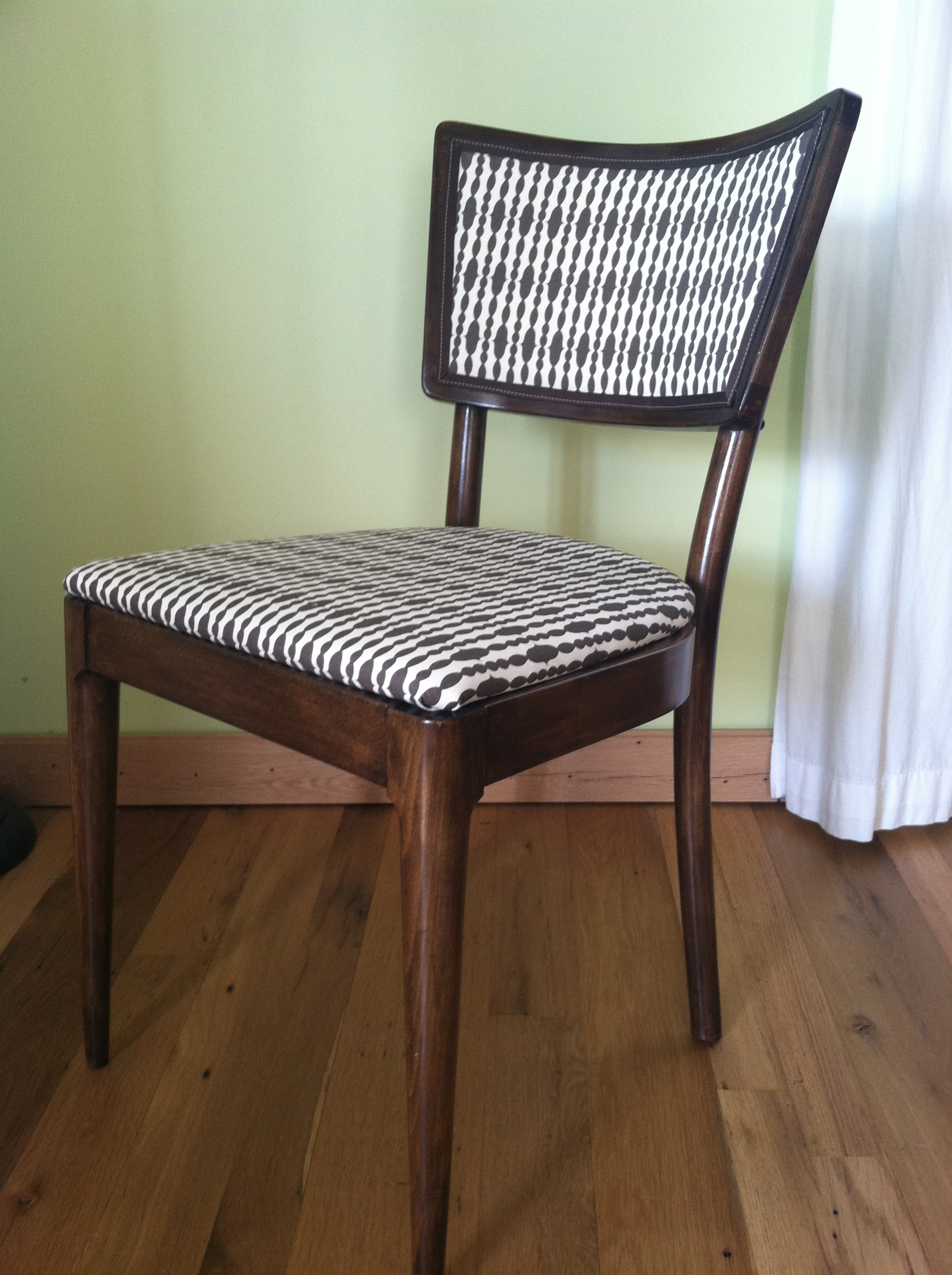 The cane back chair makeover
