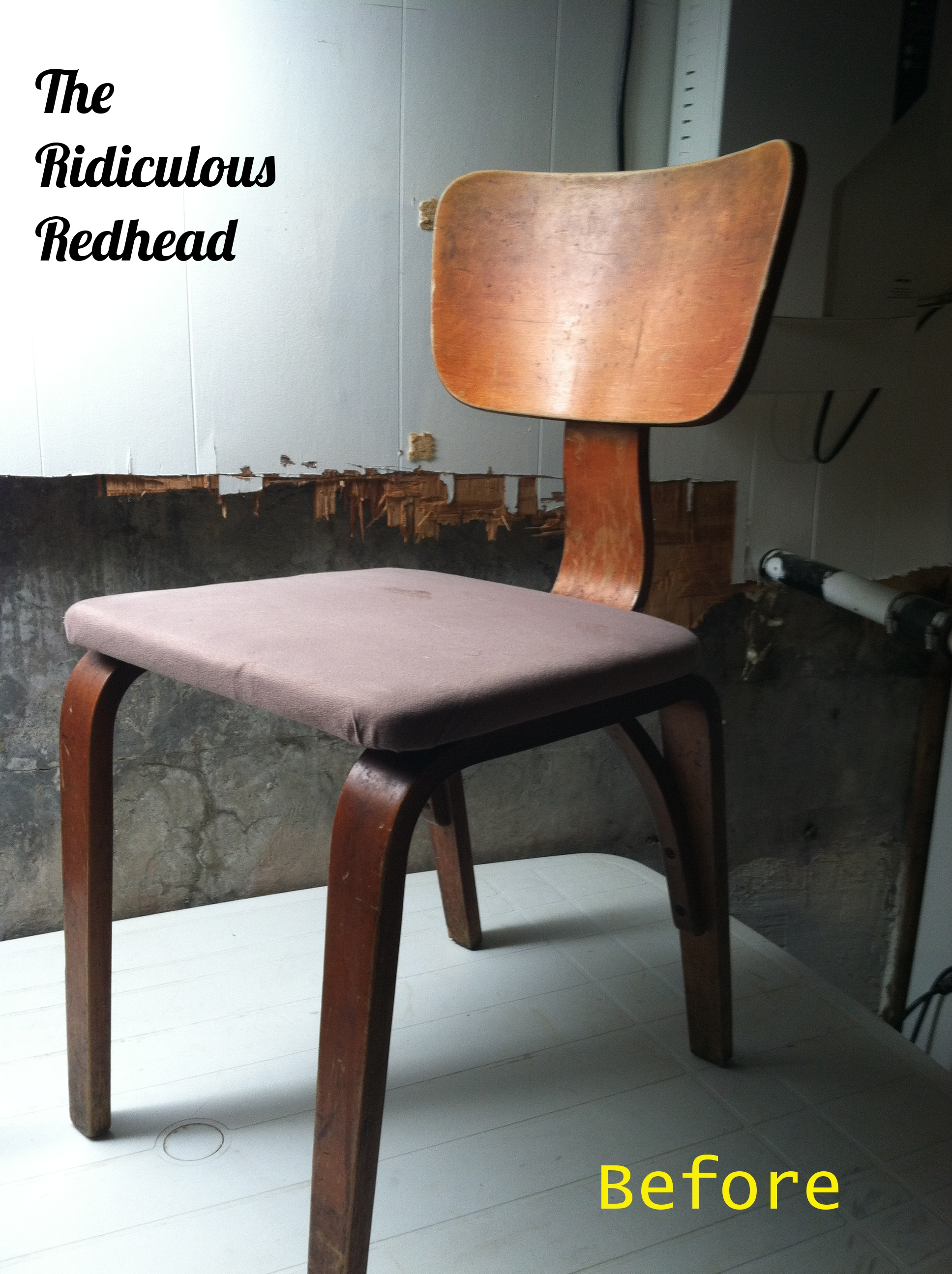 Vintage Bent Plywood Chair