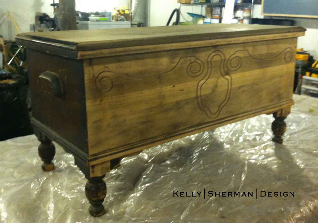 KSD Hope Chest Before