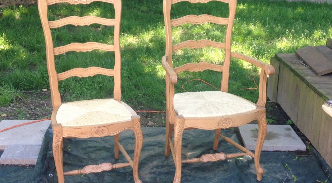 Dining Chair makeover before KSD