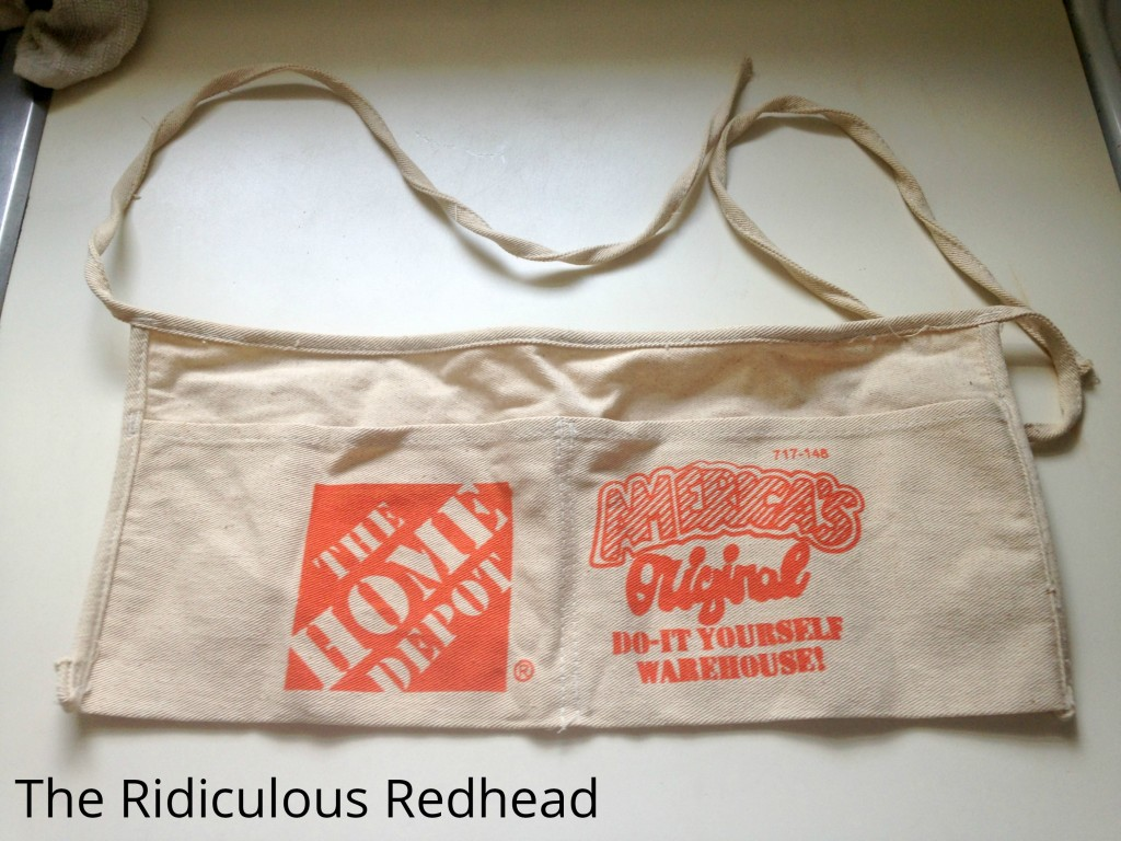 Ridiculous Redhead Home Depot Apron