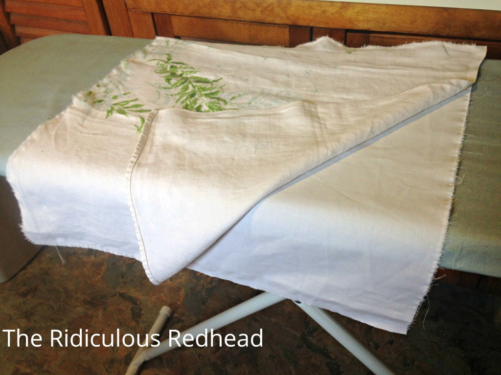 Ridiculous Redhead Tablecloth Square