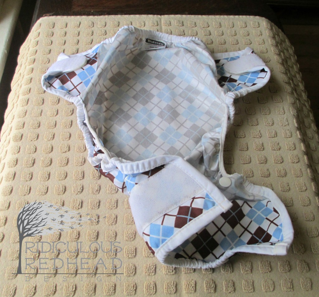 cloth diaper cover inside ridiculous redhead
