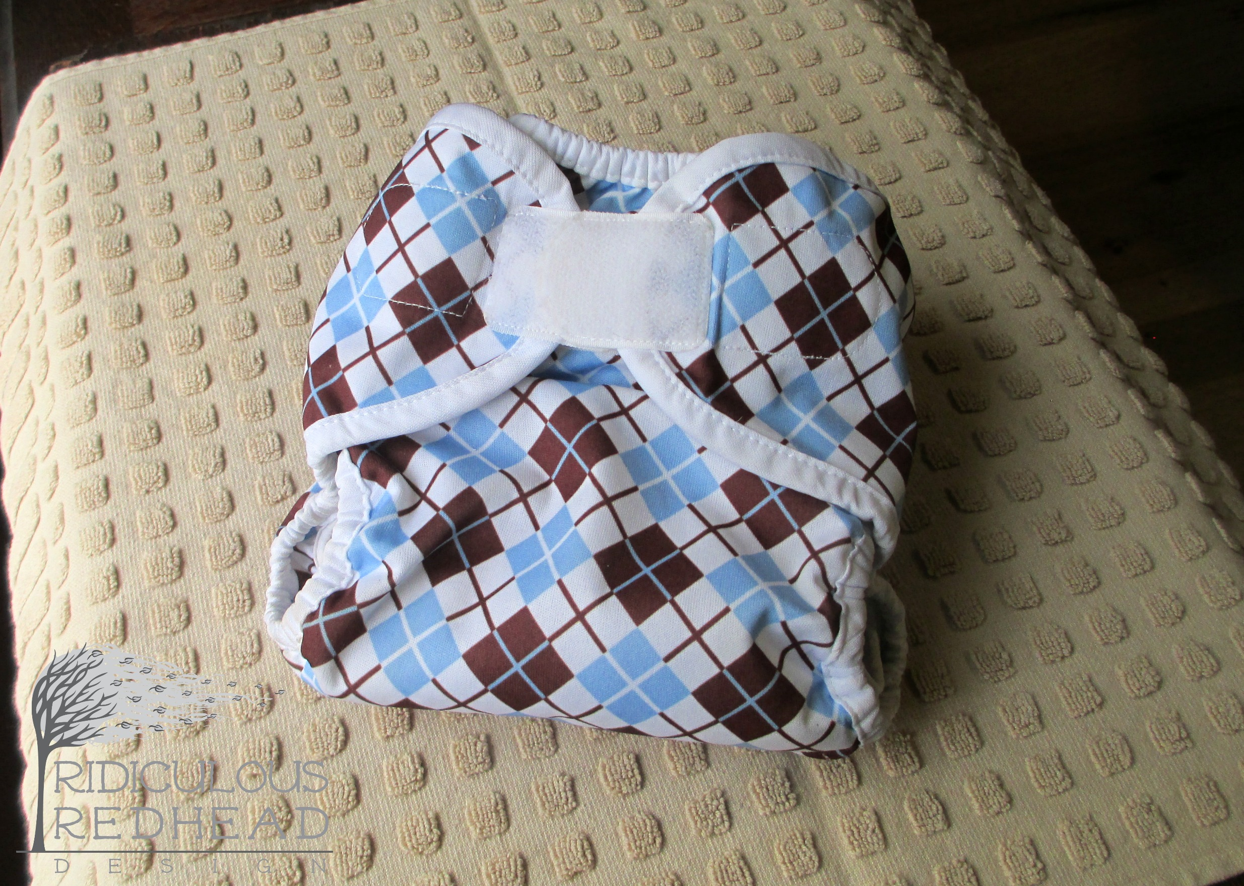 cloth diaper cover ridiculous redhead