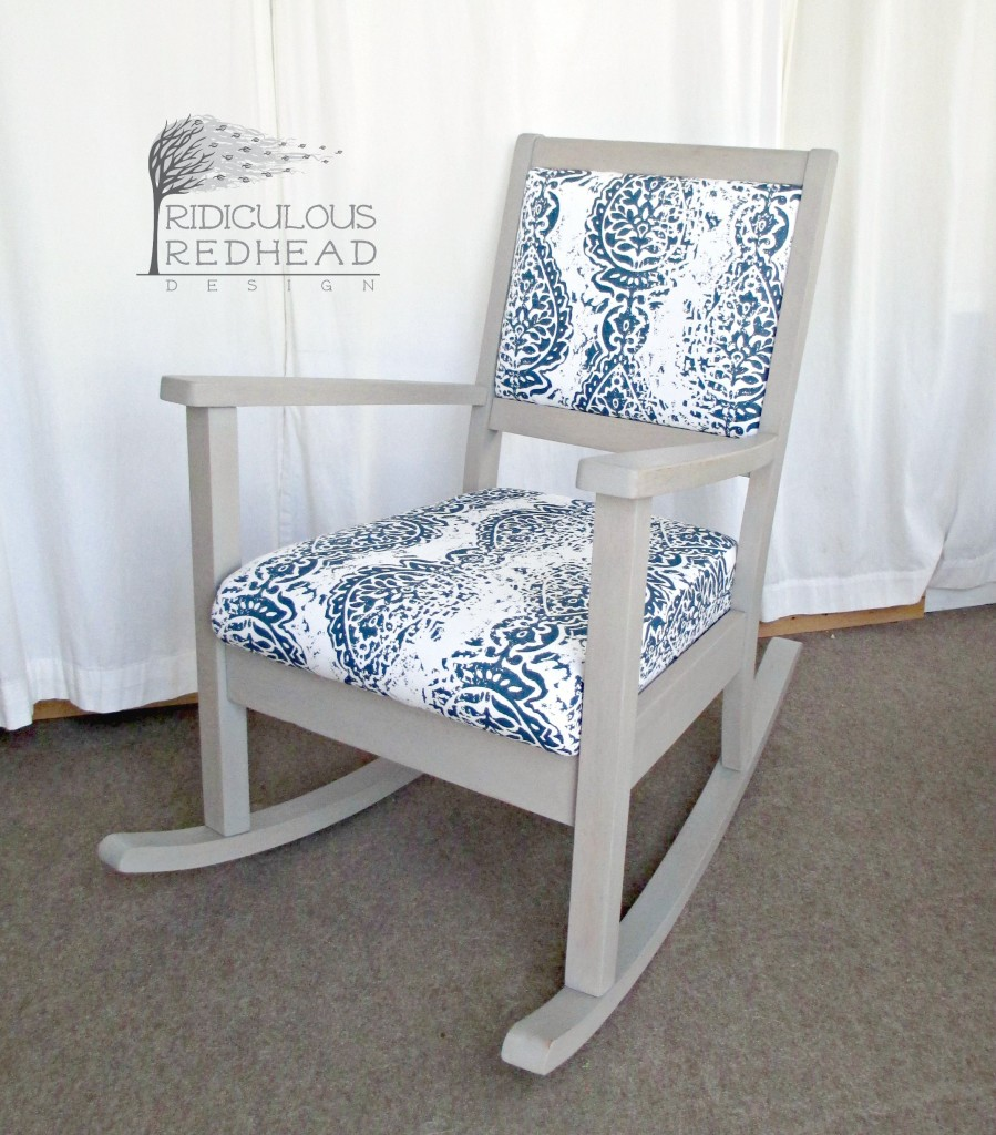 Ridiculous Redhead Habitat Chair After
