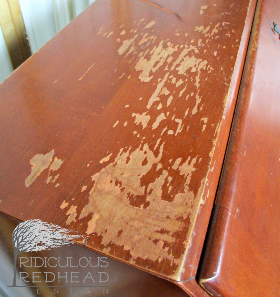 Ridiculous Redhead P desk top before